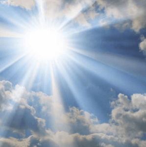 The sun's rays can be even stronger in winter