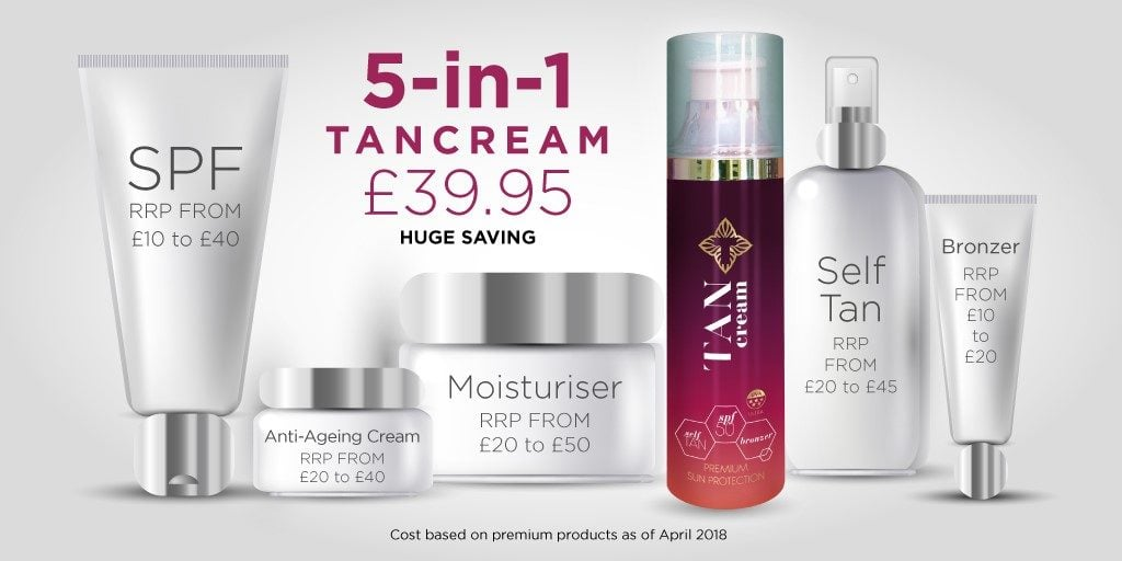 5-in-1 Tancream
