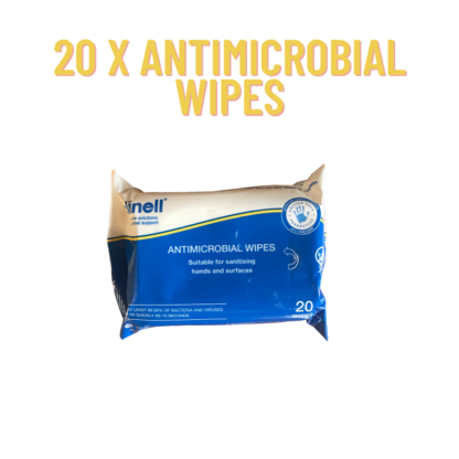 Hand and Surface Sanitising Wipes